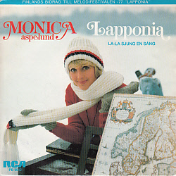 Monica Aspelund - Lapponia Swedish version