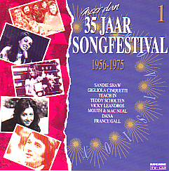 Various Artists - Meer Dan 35 Jaar Songfestival (Various 1956 CD)
