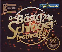 Various Artists - Det Basta Med Schlager Festivalen (Sweden 2008 CD)