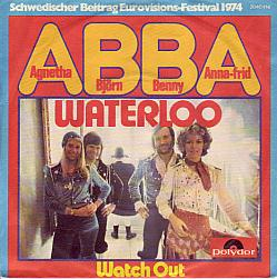 Abba - Waterloo (Sweden 1974 SI)