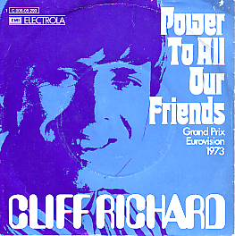Cliff Richard - Power To All Our Friends (United Kingdom 1973 SI)