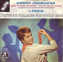 Conny Froboess - Zwei Kleine Italiener (Germany 1962 SI)