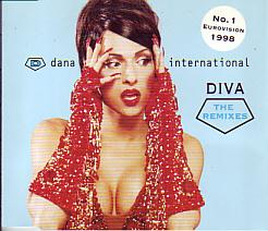 Dana International - Diva  The Remixes (Israel 1998 CDSI)