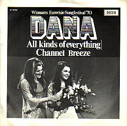 Dana - All Kinds Of Everything (Ireland 1970 SI)