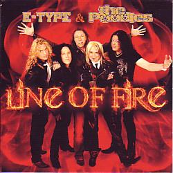 E-type & The Poodles - Line Of Fire (Sweden 2008 CDSI)