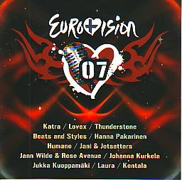 Various Artists - Suomen Euroviisut 2007 (Finland 2007 CD)