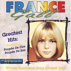 France Gall - Greatest Hits (Luxembourg 1965 CD)