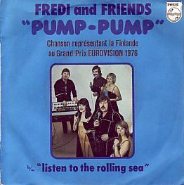 Fredi & Friends - Pump Pump (Finland 1976 SI)