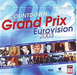 Various Artists - Countdowngrandprix '03 (Germany 2003 CD)