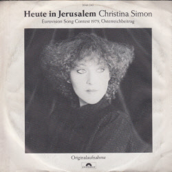 Christina Simon - Heute in Jerusalem
