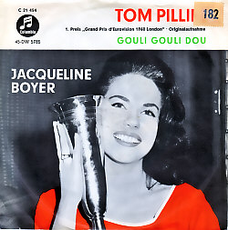 Jacqueline Boyer - Tom Pillibi (France 1960 SI)