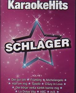 Various Artists - Karaoke Hits Schlager (Various  DVD)