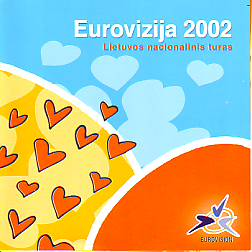 Various Artists - Eurovizija 2002 (Lithuania 2002 CD)