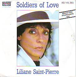 Liliane Saint Pierre - Soldiers Of Love (Belgium 1987 SI)