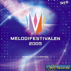 Various Artists - Melodifestivalen 2009 (Sweden 2009 CD)