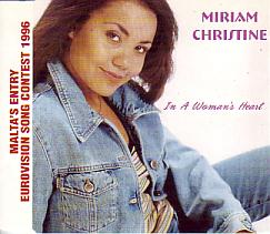 Miriam Christine - In A Woman's Heart (Malta 1996 CDSI)
