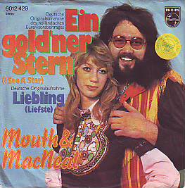 Mouth & Macneal - Ein Gold'ner Stern (Netherlands 1974 SI)
