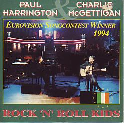 Paul & Charlie Harrington - Rock 'n' Roll Kids (Ireland 1994 CDSI)