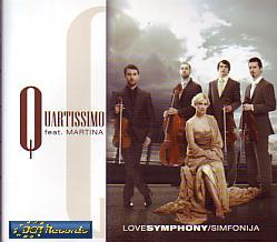 Quartissimo Feat. Martina - Love Symphony (Slovenia 2009 CDSI)
