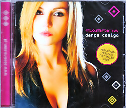 Sabrina - Danca Comigo (Portugal 2007 CD)