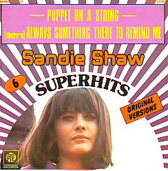 Sandie Shaw - Puppet On A String (United Kingdom 1967 SI)