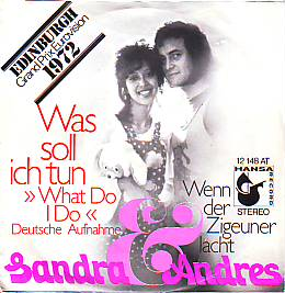 Sandra & Andres - Was Soll Ich Tun (Netherlands 1972 SI)
