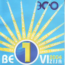Various Artists - Beovizija 2004 (Serbia 2004 CD)