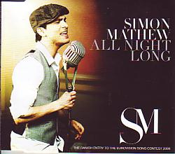 Simon Mathew - All Night Long (Denmark 2008 CDSI)