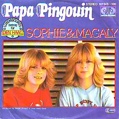 Sophie & Magaly - Papa Pinguin (Luxembourg 1980 SI)