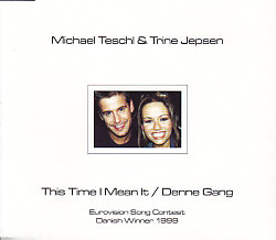 Michael Teschl &trine Jepsen - This Time I Mean It (Denmark 1999 CDSI)