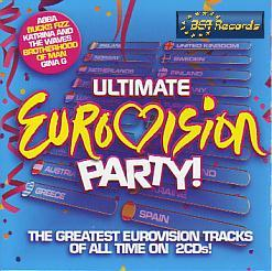 Various Artists - Ultimate Eurovision Party (Various 2008 CD)