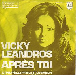 Vicky Leandros - Apres Toi (Luxembourg 1972 SI)