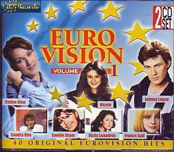 Various Artists - Eurovision Volume 1 (Various 1998 CD)
