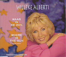 Willeke Alberti - Waar Is De Zon (Netherlands 1994 CDSI)