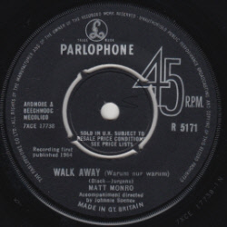Matt Monro - Walk Away